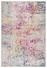 Load image into Gallery viewer, Safavieh Evoke Farmhouse Ivory & Fuchsia Rug