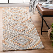 Load image into Gallery viewer, Safavieh Kilim Bohemian Sage & Gold Rug