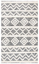 Load image into Gallery viewer, Safavieh Kenya Ivory & Black Rug