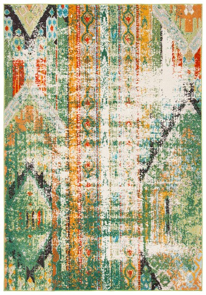 Safavieh Madison Bohemian Green & Orange Rug