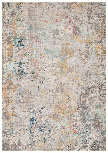 Safavieh Madison Contemporary Gray & Gold Rug