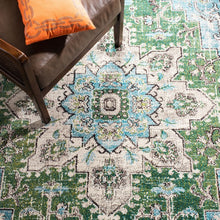 Load image into Gallery viewer, Safavieh Madison Traditional Green & Turquoise Rug