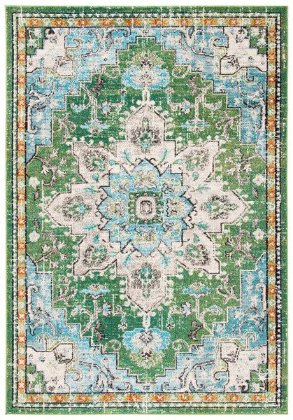 Safavieh Madison Traditional Green & Turquoise Rug