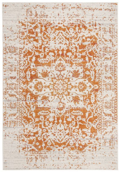 Safavieh Madison Traditional Orange & Ivory Rug