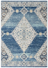 Load image into Gallery viewer, Safavieh Madison Modern Traditional Navy & Cream Rug
