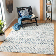 Load image into Gallery viewer, Safavieh Madison Bohemian Ivory & Navy Rug