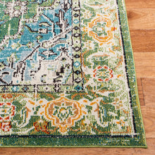 Load image into Gallery viewer, Safavieh Monaco Bohemian Green & Turquoise Rug