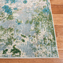 Load image into Gallery viewer, Safavieh Monaco Bohemian Turquoise & Green Rug
