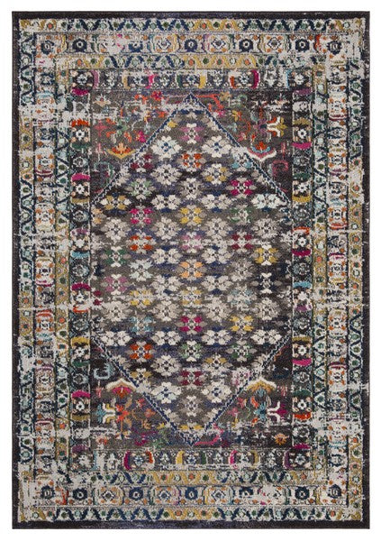 Safavieh Monaco Bohemian Brown & Gray Rug