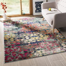Load image into Gallery viewer, Safavieh Monaco Bohemian Green & Blue Rug