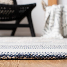 Load image into Gallery viewer, Safavieh Kilim Farmhouse Navy & Ivory Rug