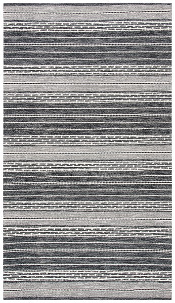 Safavieh Kilim Farmhouse Ivory & Black Rug