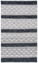 Load image into Gallery viewer, Safavieh Kilim Farmhouse Black & Ivory Rug