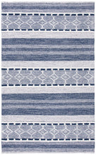 Load image into Gallery viewer, Safavieh Kilim Bohemian Navy & Ivory Rug