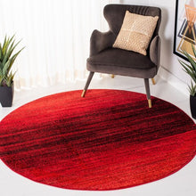 Load image into Gallery viewer, Safavieh Adirondack Modern Red & Black Rug