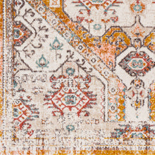 Load image into Gallery viewer, Farmhouse Ankara Mustard & Ivory Rug