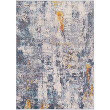 Load image into Gallery viewer, Farmhouse Ankara Navy & Ocean Rug