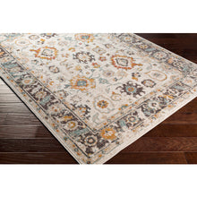 Load image into Gallery viewer, Farmhouse Ankara Multi & Charcoal Rug