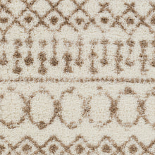 Load image into Gallery viewer, Aliyah Farmhouse Shag Beige & Cream Rug