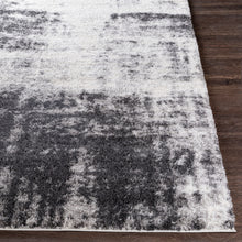 Load image into Gallery viewer, Aliyah Farmhouse Shag Charcoal & Light Gray Rug