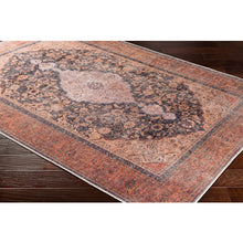 Load image into Gallery viewer, WASHABLE Amelie Clay & Denim Area Rug