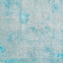 Load image into Gallery viewer, WASHABLE Amelie Sky Blue & Teal Area Rug