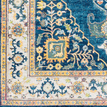 Load image into Gallery viewer, Surya Aura Silk Navy & Beige Area Rug