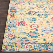 Load image into Gallery viewer, Surya Aura Silk Light Yellow & Multi Area Rug