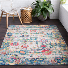 Load image into Gallery viewer, Surya Aura Silk Light Blue & Multi Area Rug