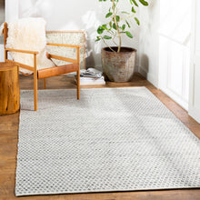 Load image into Gallery viewer, Pet-Friendly Azalea Medium Gray & Ink Rug