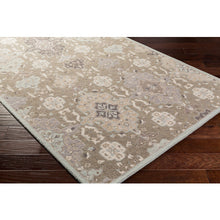 Load image into Gallery viewer, Surya Luxury Castille Taupe & Sky Rug