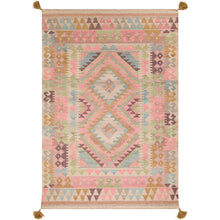 Load image into Gallery viewer, Surya Adia Bohemian Blush & Khaki Rug - DIA-2010