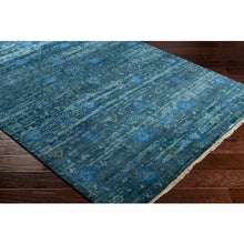 Load image into Gallery viewer, Luxury Empress Denim & Charcoal Area Rug