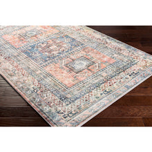 Load image into Gallery viewer, Farmhouse Erin Denim & Terracotta Rug