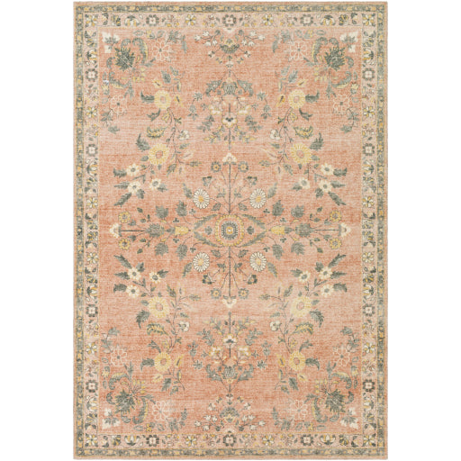 Farmhouse Erin Terracotta & Cream Rug