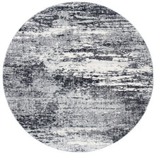 Load image into Gallery viewer, Safavieh Evoke Modern Dark Gray & Ivory Rug