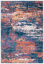 Load image into Gallery viewer, Safavieh Evoke Modern Navy & Terracotta Rug