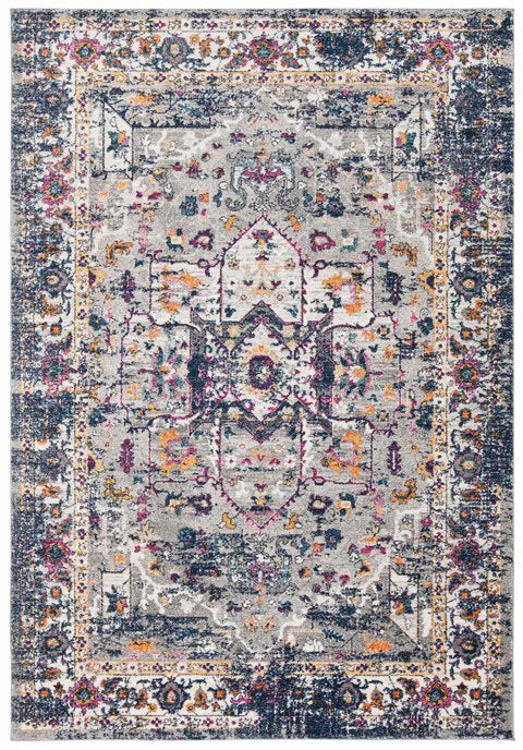 Safavieh Evoke Farmhouse Navy & Gray Rug