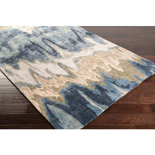 Load image into Gallery viewer, Gemini Contemporary Rug in Beige & Denim