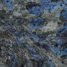 Load image into Gallery viewer, Gemini Contemporary Rug in Dark Navy & Charcoal