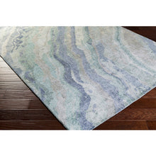 Load image into Gallery viewer, Gemini Contemporary Rug in Emerald & Teal