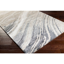 Load image into Gallery viewer, Gemini Contemporary Rug in Charcoal & Light Gray