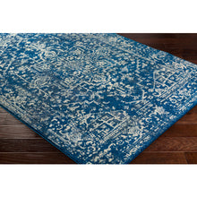 Load image into Gallery viewer, Surya Harput Farmhouse Area Rug in Navy & Stone