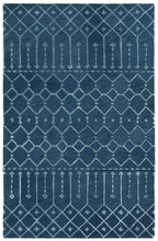 Load image into Gallery viewer, Safavieh Himalaya Navy & Silver Rug