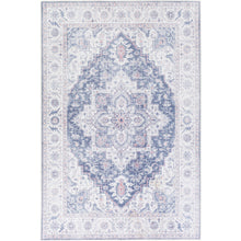 Load image into Gallery viewer, Iris Farmhouse Navy & Ivory Area Rug