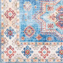 Load image into Gallery viewer, Iris Farmhouse Multi & Navy Area Rug