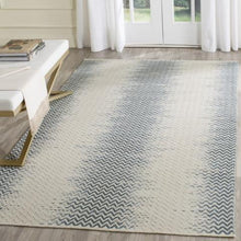 Load image into Gallery viewer, Safavieh Kilim Farmhouse Blue & Ivory Rug