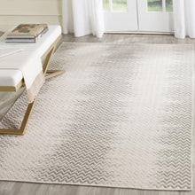 Load image into Gallery viewer, Safavieh Kilim Farmhouse Sage & Ivory Rug