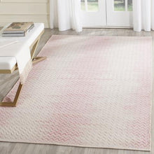 Load image into Gallery viewer, Safavieh Kilim Farmhouse Rose & Ivory Rug