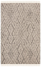 Load image into Gallery viewer, Safavieh Kilim Bohemian Black & Ivory Rug